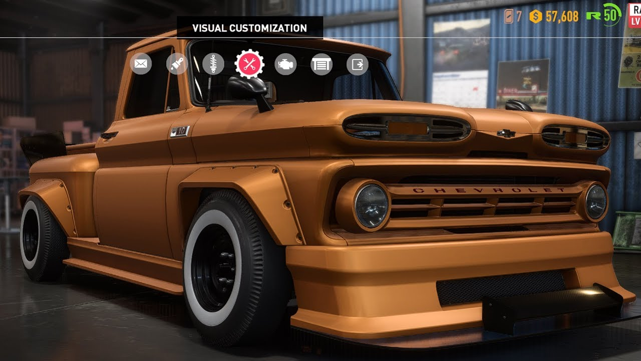 Need For Sd Payback Chevrolet C10 Stepside Pickup Derelicts Customize Tuning Car Hd