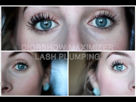 308be0ff569 REVIEW/DEMO : DIORSHOW MAXIMIZER LASH PLUMPING SERUM - YouTube