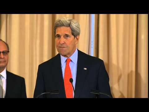 Secretary Kerry Delivers Remarks at a Swearing-in Ceremony for Director Chacon