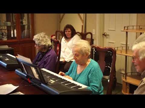 Clavinova Music and Wellness Video at WV