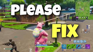 Fortnite Rabbit Raider Ear Glitch Epic Please Fix...