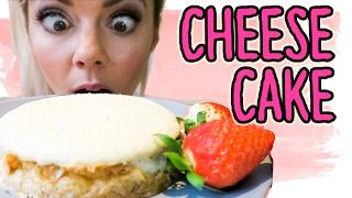 Der BESTE PROTEIN Cheesecake der Welt | low carb | low fat | Fitness & Bodybuilding Rezept