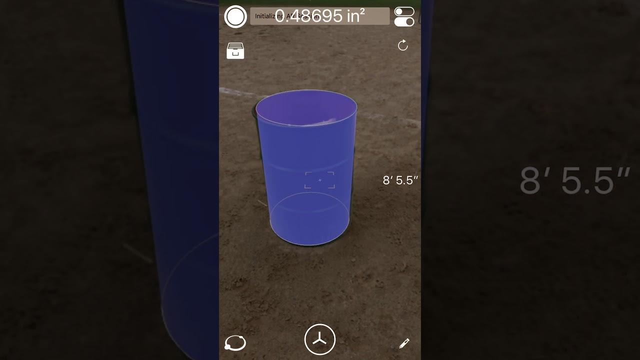 Apple Arkit Iphone Demo Measure 3d Pro Ar Ruler On Ios 2 Youtube
