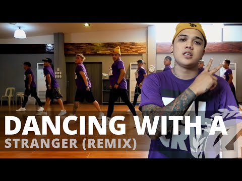 DANCING WITH A STRANGER (Remix) By Sam Smith | Zumba | Pop | TML Crew Carlo Rasay