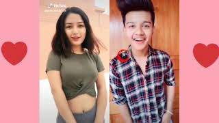 Kya Banogi Meri GF♥️ Cute girls Duets with Riyaz   Riyaz Duet musically videos   Riyaz New tiktok
