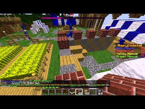 Minecraft Annihilation Class Review! Builder!