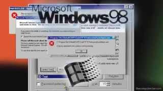 Windows 98 got a [NO BGM Sparta Remix]
