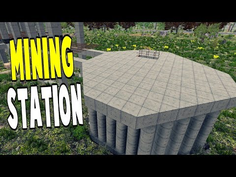 Mining Station | WotW S01 | 7 Days To Die Alpha 16 Let's Play Gameplay PC | E36