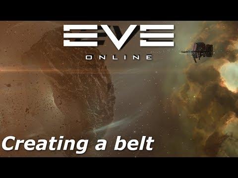 EVE Online  Creating a belt
