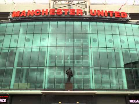 TOUR OF OLD TRAFFORD STADIUM - MANCHESTER UNITED 2016