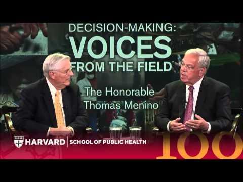 Mayor Thomas Menino: Leadership of Boston's Public Health Mayor   Voices from the Field