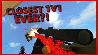 CLOSEST 1V1 EVER?! Frick VS Fan Ep. 3 (Biggy) - Roblox: Phantoms Forces