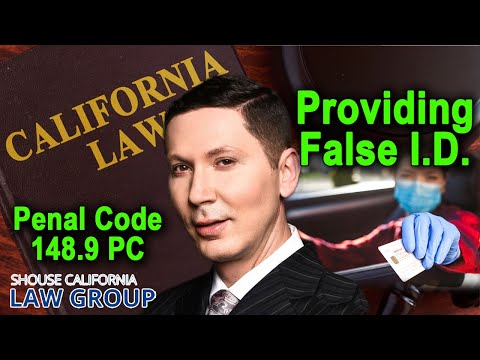 For Cops Id penal Busted 148 9 False A Giving Code