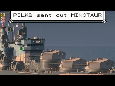 "Viewer spotlight! // Minotaur / ""Intensify the forward batteries!"""