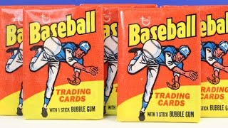 1975 Topps Baseball Card Wax Pack Box Break Opening Possible Nolan Ryan Pete Rose Reggie Jackson