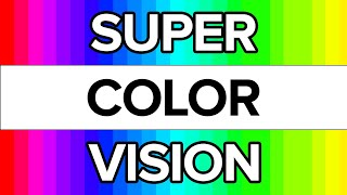 Do You Have SUPER Color Vision?