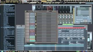 AMD Beatz - BooBa - Bakel city Gang (Instrumental Remake with fl studio 10)