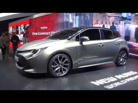 gen ve 2018 nouvelle toyota auris hybride youtube. Black Bedroom Furniture Sets. Home Design Ideas