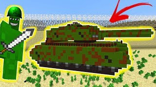 WW2 CLAY SOLDIERS RAID! (WORKING TANK!) • Minecraft Clay Soldiers Mod!