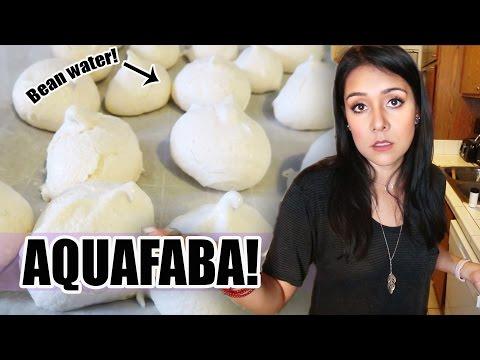 BEAN WATER COOKIES?! Testing Aquafaba - Does it work?! - #TastyTuesday