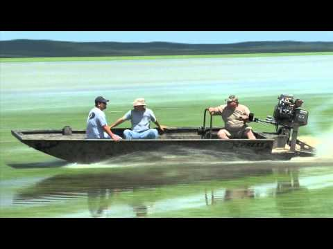 Xpress Mud Boat with Gator Tail surface drive
