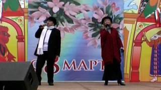 """Людмила и Александр Карауловы  - """"Случайная встреча""""."""