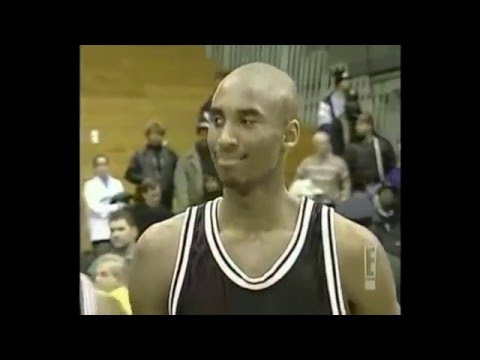 Kobe Bryant High School Highlights + Bryant Drafted By Hornets With 13th Pick In 1996!