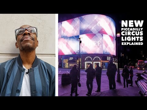 The New Piccadilly Circus Billboard Lights - EXPLAINED