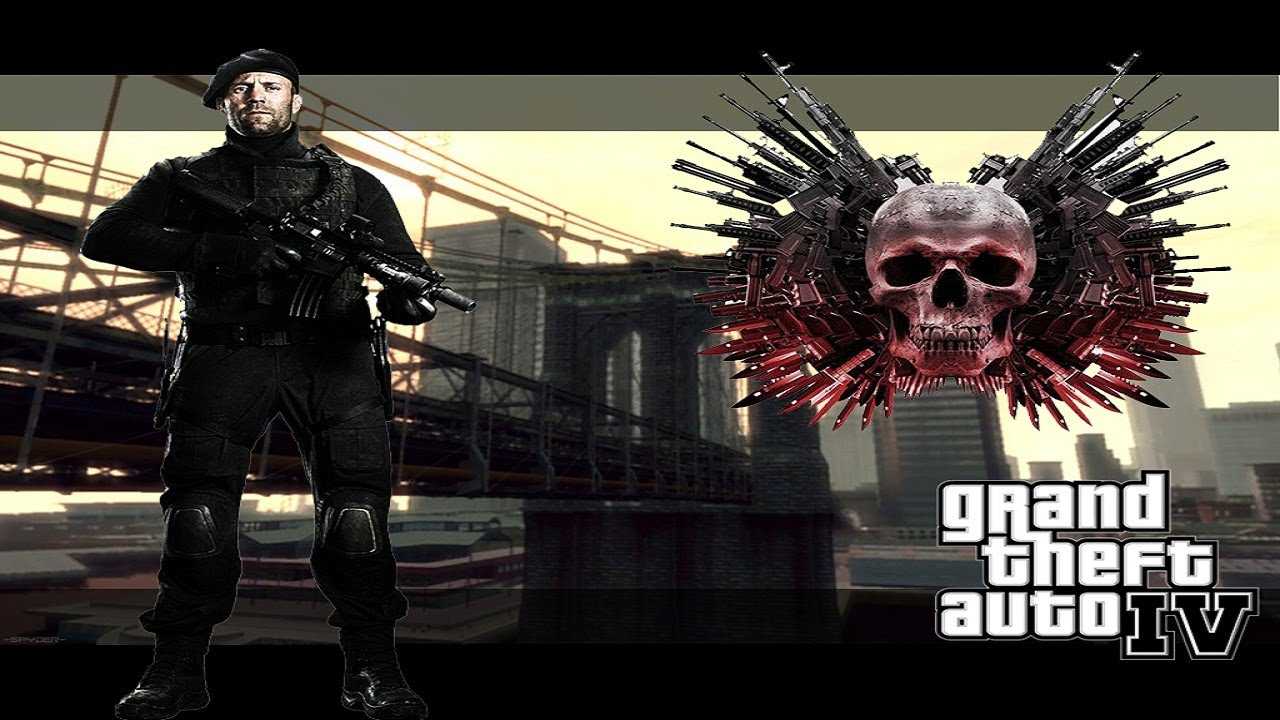 Download GTA IV: Lee Christmas by Jason Statham (The Expendables 2)