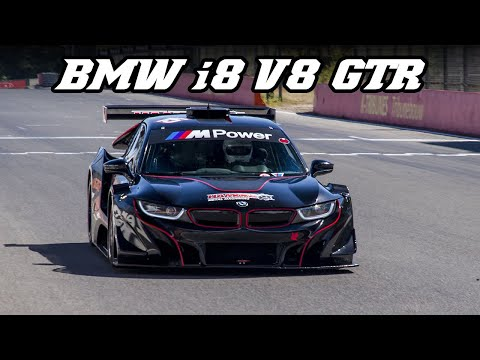 BMW i8 V8 GTR Silhouette - Z4 GT3 sounds