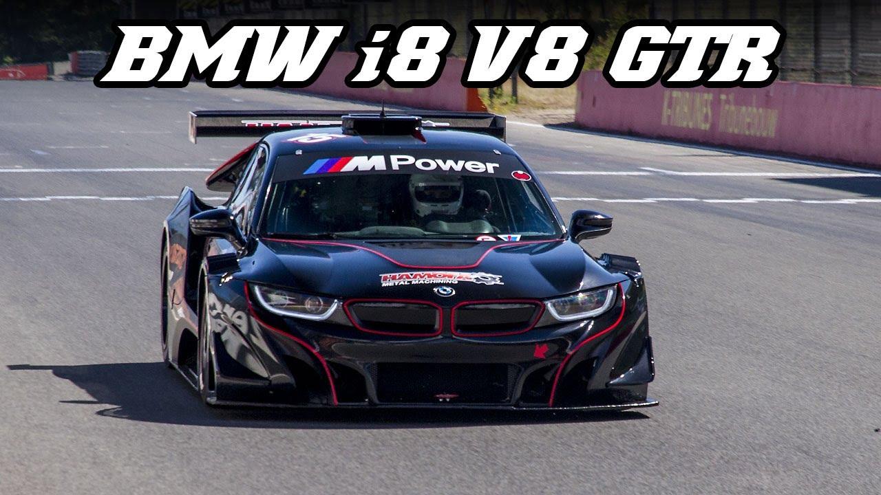 Bmw I8 V8 Gtr Silhouette Z4 Gt3 Sounds Youtube