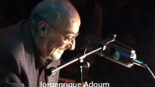 POESIA MANO A MANO JORGENRIQUE ADOUM - EFRAIN JARA IDROVO (31/10/2003 fragmento)