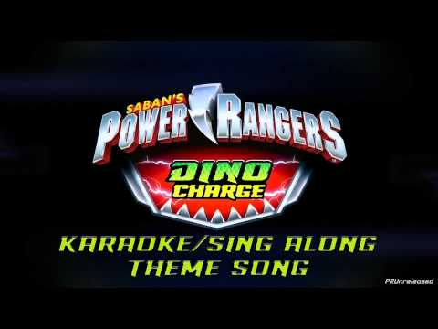EXCLUSIVE: Power Rangers Dino Charge Karaoke/Sing Along Theme Song