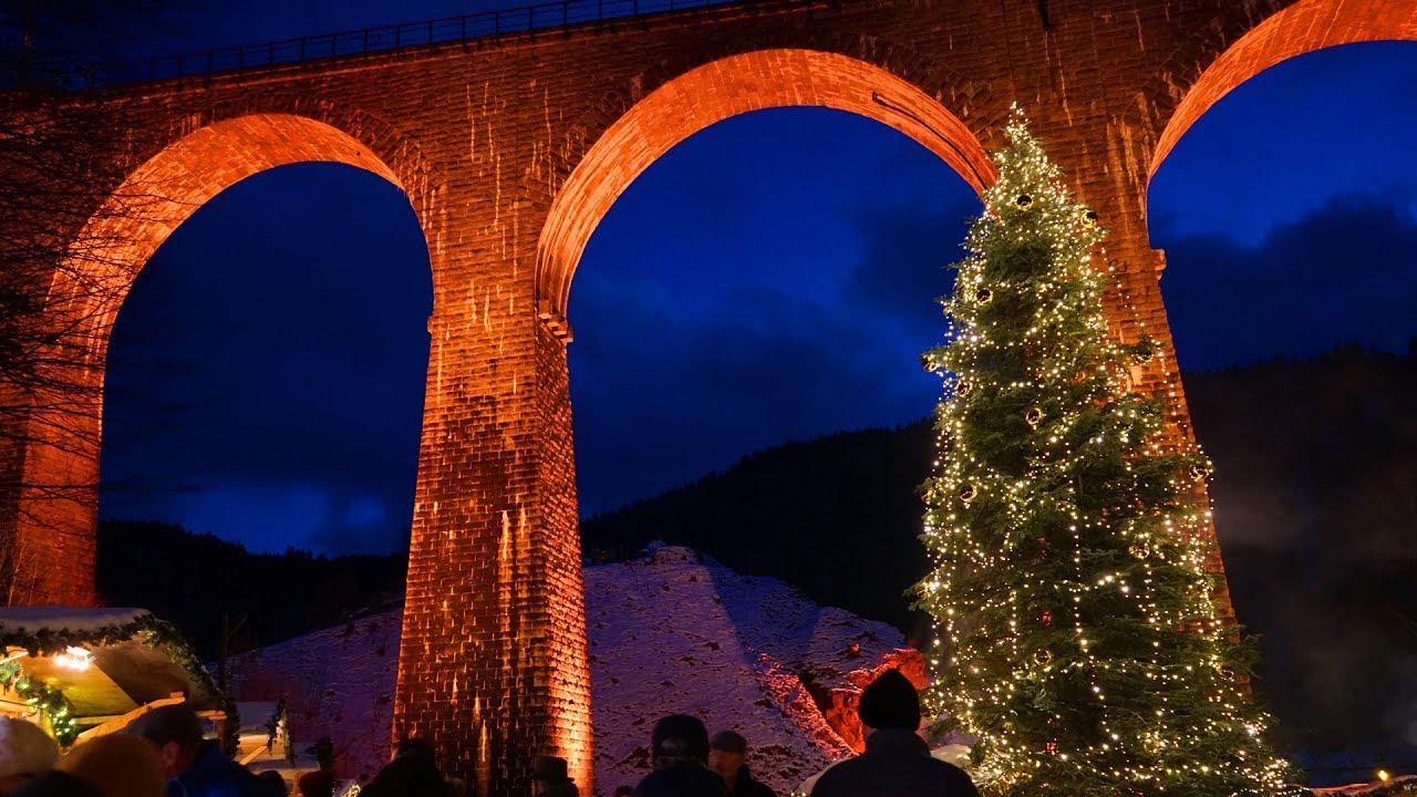 The Black Forest Germany >> Christmas Market in the Ravenna Gorge - Ravennaschlucht - upper Black Forest - YouTube