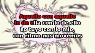Cachete Pechito y Ombligo (con letra) - Pancho y la Sonora Colorada (Karaoke)