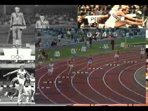 David Hemery - 400m Hurdles World Record 1968 Mexico