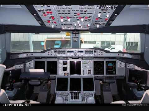 Aerei cabine di pilotaggio flight desk youtube for Cabine di tnstateparks com