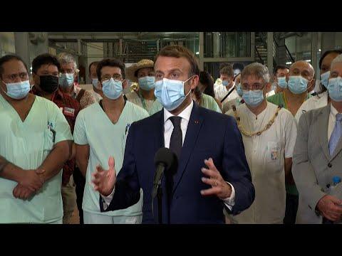 «Nous avons une arme qu'il faut utiliser, le vaccin» : Emmanuel Macron répond aux réfractaires