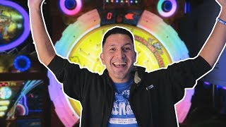 He got the JACKPOT on his first try!