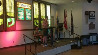 Memorial Day Presentation at the Lodge