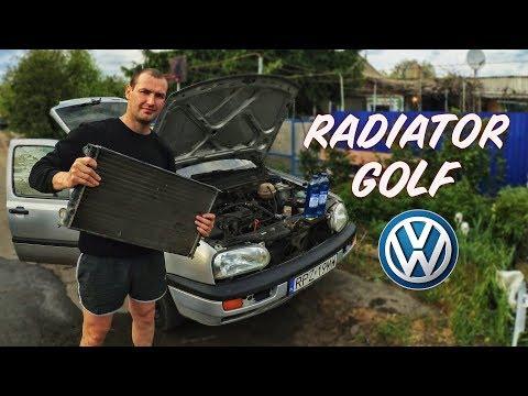 ЗАМЕНА РАДИАТОРА ГОЛЬФ 3 | РАДИАТОР ГОЛЬФ | Volkswagon Radiator Replacement!!