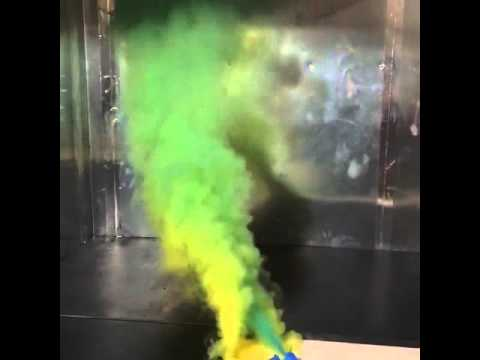 smoke bomb test of fume hood ventilation youtube. Black Bedroom Furniture Sets. Home Design Ideas