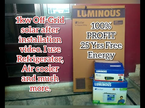 Solar Panels price in India 2019 | Luminous solar panel Review in English