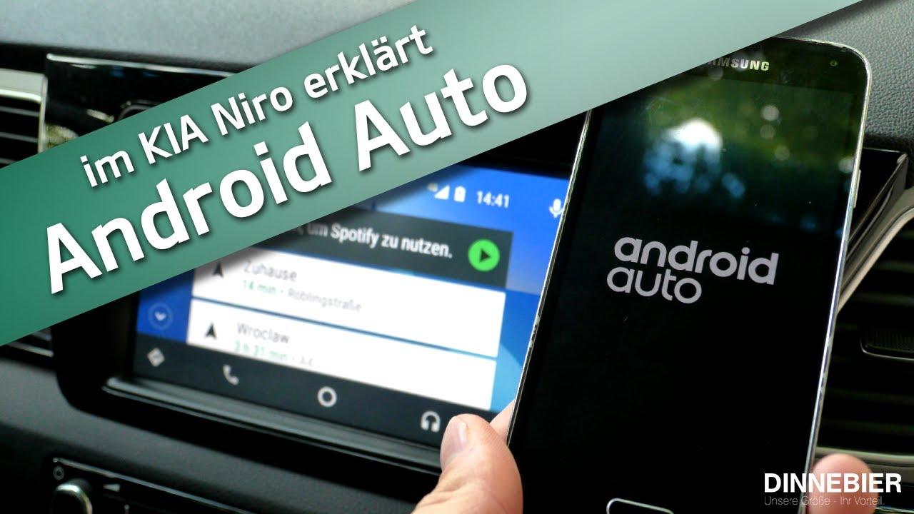 Eine Sichere Verbindung Android Auto Im Kia Niro