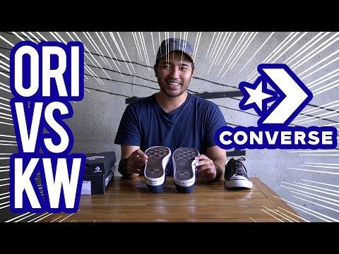 Bahas Sepatu : Ternyata ini Bedanya Converse Ori & Converse KW!