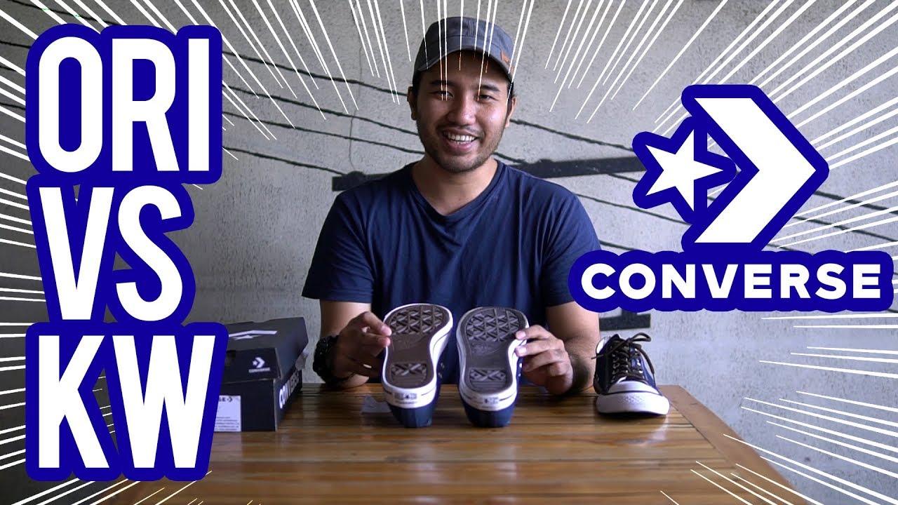 Bahas Sepatu   Ternyata ini Bedanya Converse Ori   Converse KW ... f64bf914d1