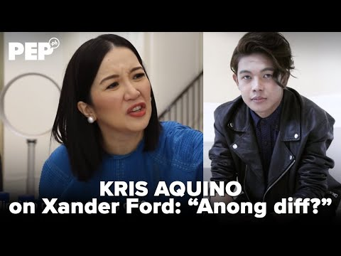WATCH: Kris Aquino reacts to Xander Ford