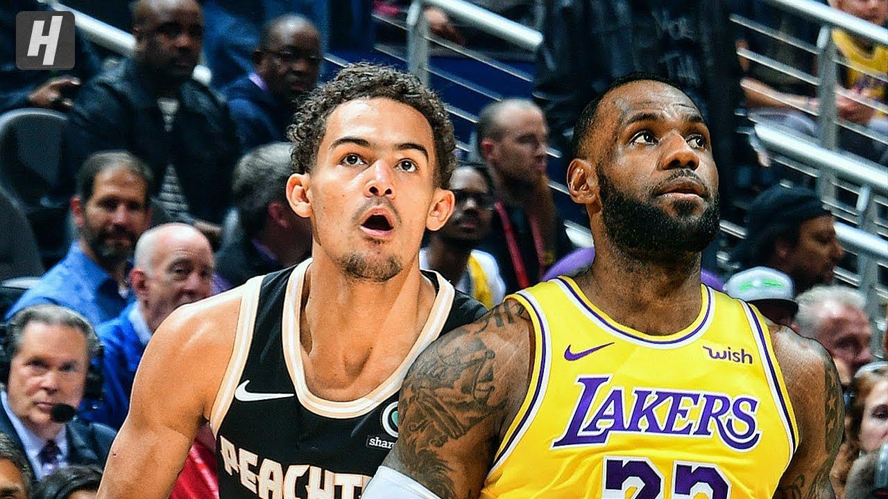 Los Angeles Lakers Vs Atlanta Hawks Full Game Highlights December 15 2019 2019 20 Nba Season