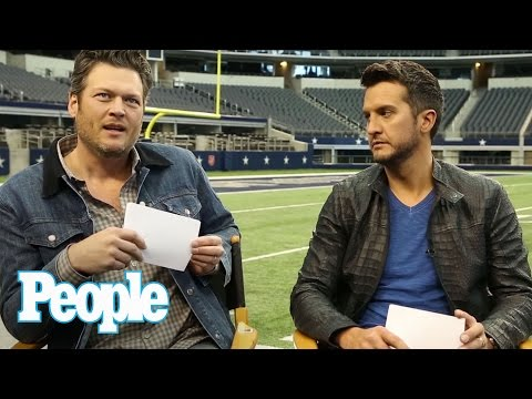 Blake Shelton & Luke Bryan Play 'Would You Rather?' | PEOPLE Country | People