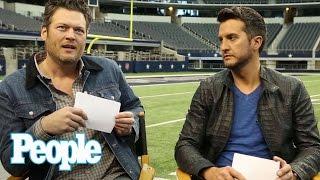 Blake Shelton & Luke Bryan Play 'Would You Rather?' | PEOPLE Country | People